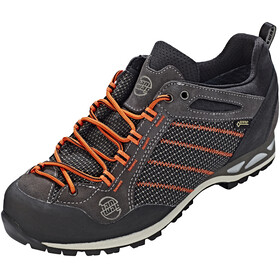 Hanwag Makra Low GTX - Chaussures Homme - gris/orange